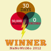 2012 NaNoWriMo Winner Badge